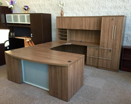 commercial grade laminate desk in Milwaukee